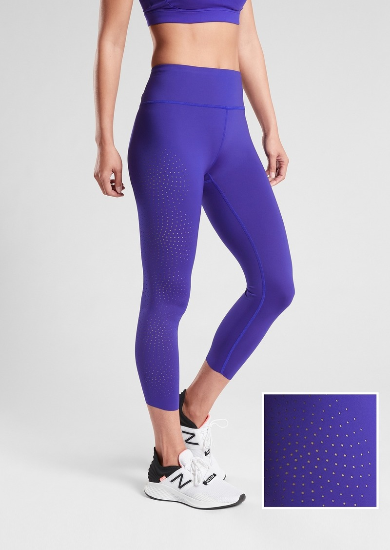 Athleta Velocity Laser Cut Capri