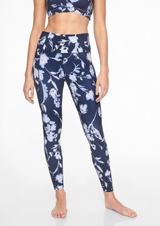 Athleta Water Flower Salutation 7/8 Tight