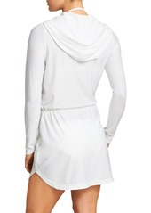 Athleta Wick-It Henley Coverup