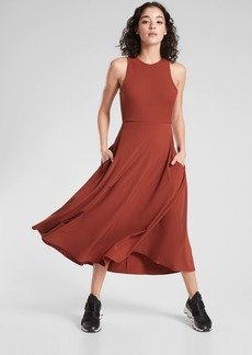 Athleta Winona Midi Support Dress