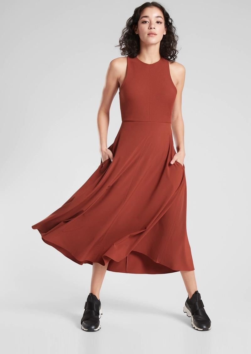 Athleta Winona Midi Support Dress