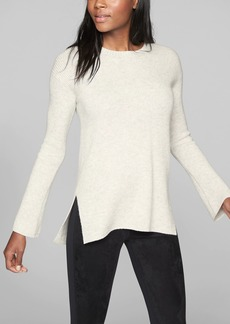 Athleta Wool Cashmere Bell Sleeve Sweater