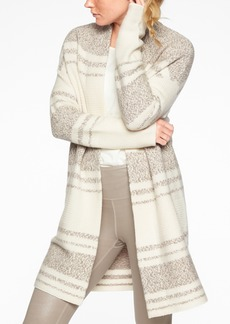 Athleta Wool Cashmere Panorama Point Sweater Wrap