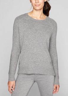 Athleta Wool Cashmere Textured Sweater