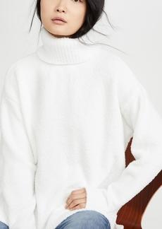 ATM Anthony Thomas Melillo Chenille High Neck Sweater