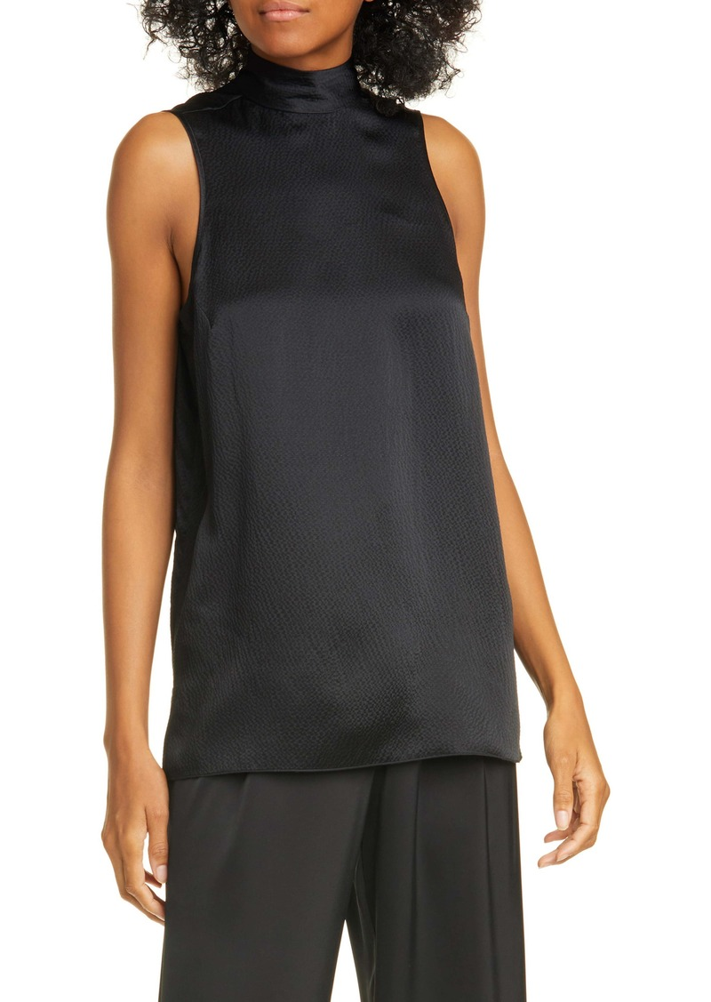 ATM Anthony Thomas Melillo Hammered Silk Tank