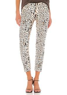 ATM Anthony Thomas Melillo Leopard Print Cotton Slim Pant