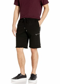 ATM Anthony Thomas Melillo Men's French Terry Cargo Zip Pocket Shorts
