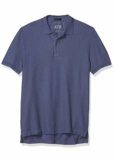 ATM Anthony Thomas Melillo Men's Pique Classic Polo Shirt