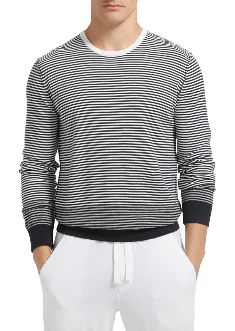 ATM Anthony Thomas Melillo Ombr� Striped Sweater