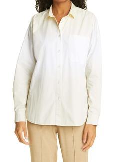 ATM Anthony Thomas Melillo Oversize Cotton Poplin Boyfriend Shirt