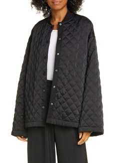 ATM Anthony Thomas Melillo Oversized Quilted Jacket