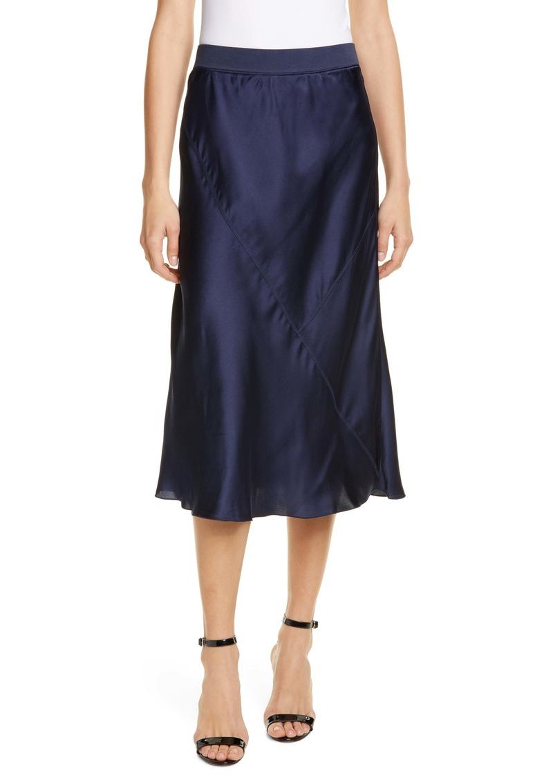 ATM Anthony Thomas Melillo Pull-On Silk Skirt
