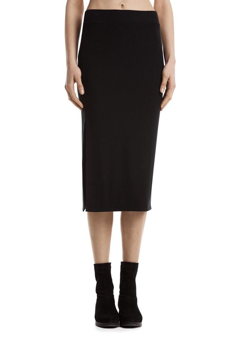 ATM Anthony Thomas Melillo Ribbed Knit Tube Skirt