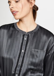 ATM Anthony Thomas Melillo Silk Striped Shirt