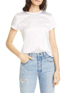 ATM Anthony Thomas Melillo Stretch Silk T-Shirt