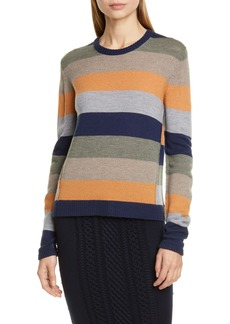 ATM Anthony Thomas Melillo Stripe Merino Wool Sweater