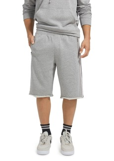 ATM Anthony Thomas Melillo Stripe-Trimmed Sweat Shorts