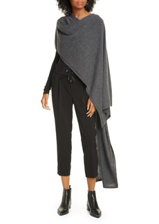 ATM Anthony Thomas Melillo Wool & Cashmere Sweater Cape
