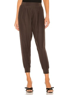 ATM Anthony Thomas Melillo Woven Pull On Silk Pants