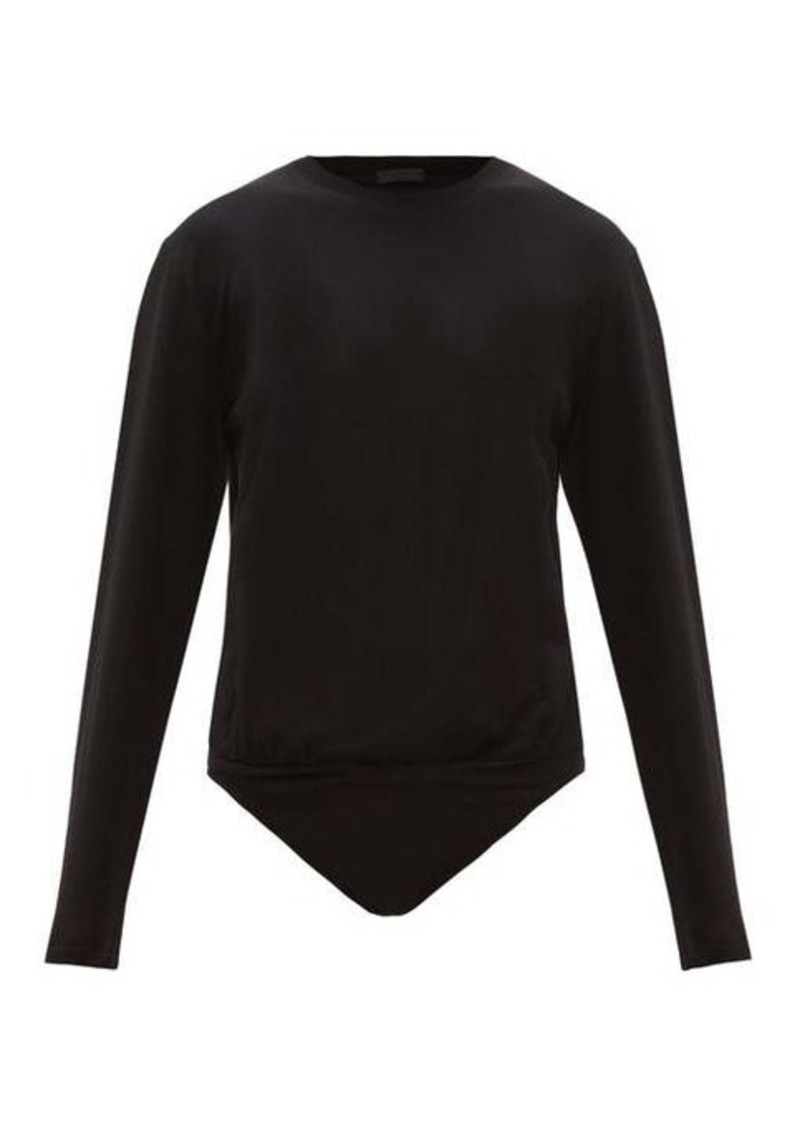 ATM Anthony Thomas Melillo ATM Long-sleeve cotton-jersey bodysuit