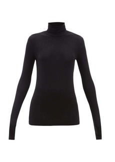 ATM Anthony Thomas Melillo ATM Roll-neck long-sleeved ribbed-jersey T-shirt