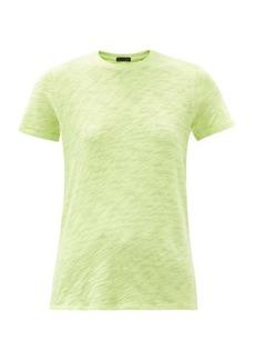 ATM Anthony Thomas Melillo ATM Schoolboy slubbed cotton-jersey T-shirt