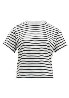 ATM Anthony Thomas Melillo ATM Striped cotton T-shirt