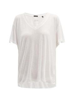 ATM Anthony Thomas Melillo ATM V-neck modal-jersey T-shirt