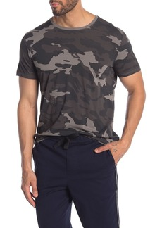 ATM Anthony Thomas Melillo Camo Print Crew Neck T-Shirt