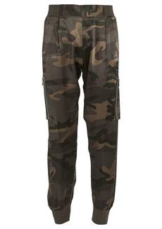 ATM Anthony Thomas Melillo Camouflage Silk Cargo Pants
