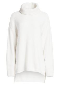ATM Anthony Thomas Melillo Chenille Oversized Turtleneck Sweater