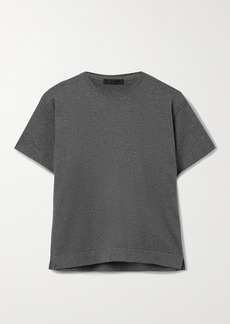 ATM Anthony Thomas Melillo Cotton And Cashmere-blend T-shirt
