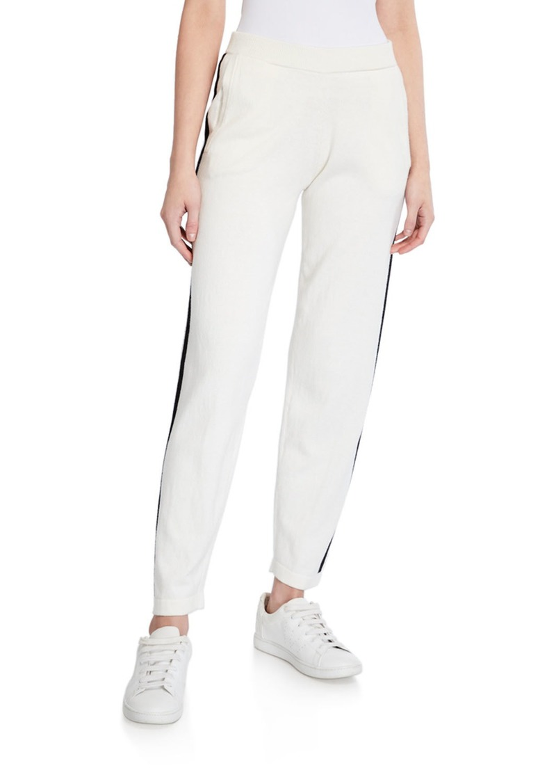 ATM Anthony Thomas Melillo Cotton-Cashmere Pull-On Sweater Pants