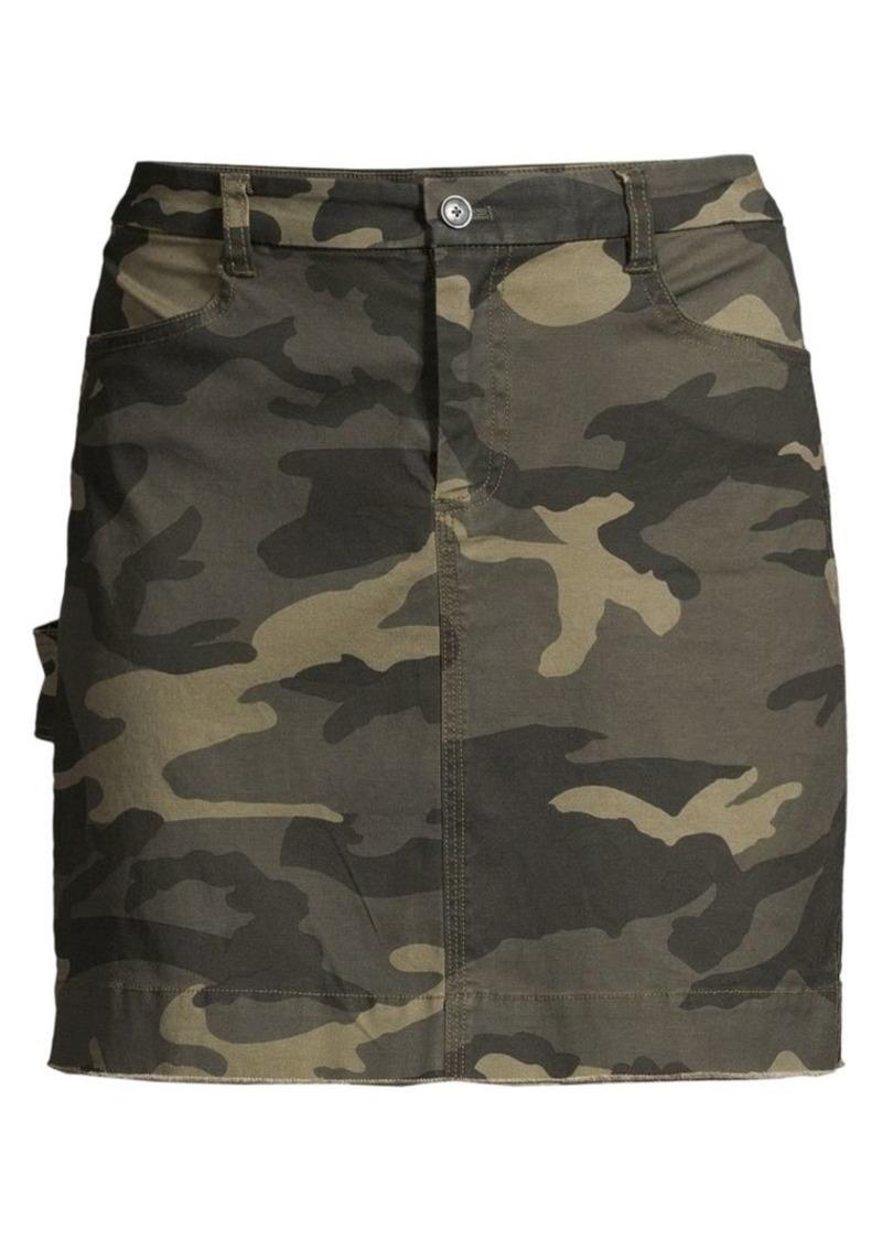 ATM Anthony Thomas Melillo Cotton Twill Mini Skirt