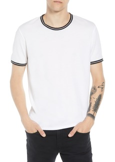 ATM Anthony Thomas Melillo Crew Neck Pique Ringer T-Shirt