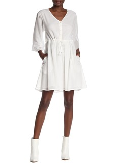 ATM Anthony Thomas Melillo Crinkle Cotton Dress