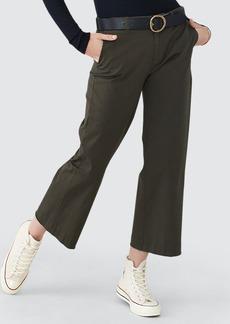 ATM Anthony Thomas Melillo Cropped Boyfriend Garment Wash Pants - 4