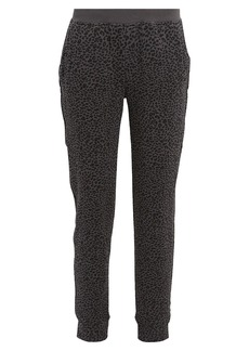 ATM Anthony Thomas Melillo French Terry Leopard Sweatpants