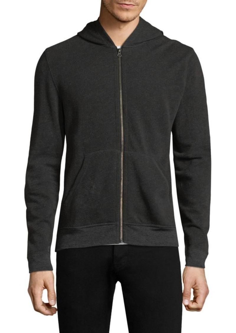 ATM Anthony Thomas Melillo Hooded Zip Sweater