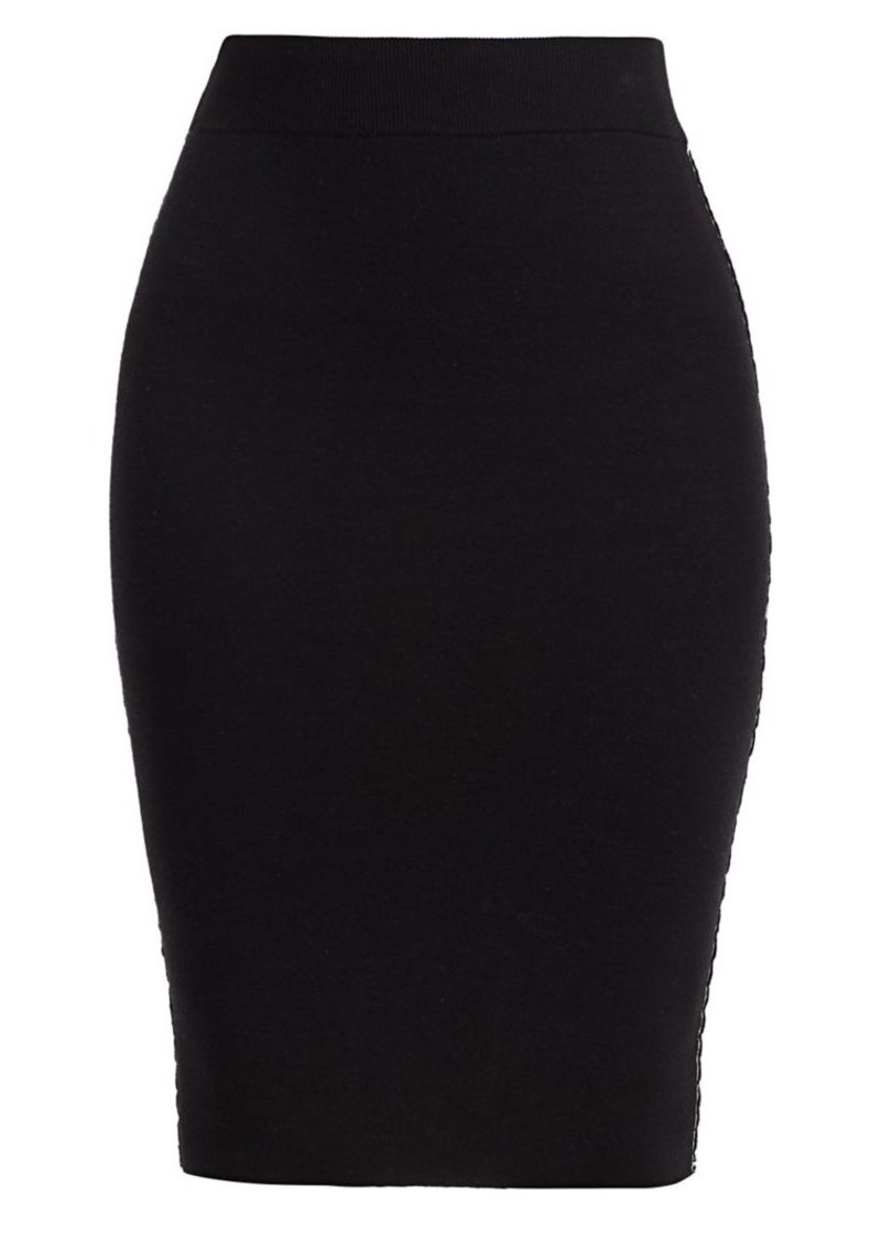 ATM Anthony Thomas Melillo Knit Pencil Skirt