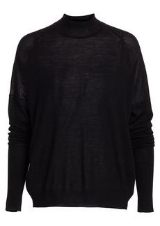 ATM Anthony Thomas Melillo Merino Wool Mockneck Sweater