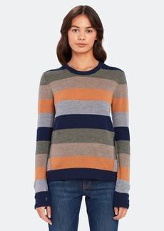 ATM Anthony Thomas Melillo Merino Wool Stripe Crewneck Sweater - XS