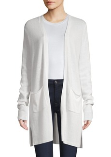 ATM Anthony Thomas Melillo Open Front Cashmere Cardigan
