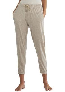ATM Anthony Thomas Melillo Pima Cotton Wide-Leg Pull-On Crop Pants