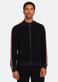 ATM Anthony Thomas Melillo Plush Terry Zip Up Track Jacket - XL - Also in: S, M, L