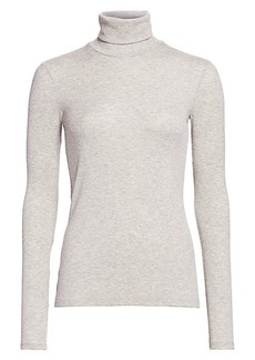ATM Anthony Thomas Melillo Rib-Knit Turtleneck