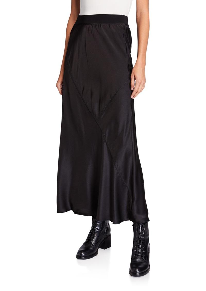 ATM Anthony Thomas Melillo Silk Ankle-Length Skirt