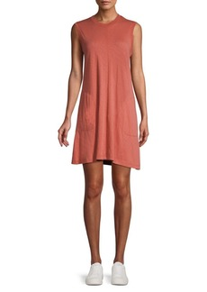 ATM Anthony Thomas Melillo Slub Jersey Tank Dress