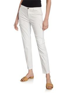 ATM Anthony Thomas Melillo Stretch Cotton Slim Ankle Pants
